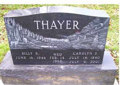 THAYER, BILLY R. - Scioto County, Ohio | BILLY R. THAYER - Ohio Gravestone Photos