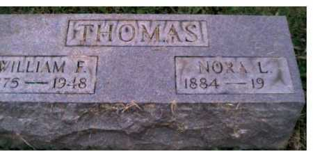 THOMAS, NORA L. - Scioto County, Ohio | NORA L. THOMAS - Ohio Gravestone Photos