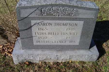 THOMPSON, LYDIA BELLE - Scioto County, Ohio | LYDIA BELLE THOMPSON - Ohio Gravestone Photos