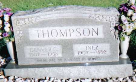 THOMPSON, INEZ - Scioto County, Ohio | INEZ THOMPSON - Ohio Gravestone Photos