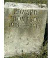 THOMPSON, EDWARD - Scioto County, Ohio | EDWARD THOMPSON - Ohio Gravestone Photos