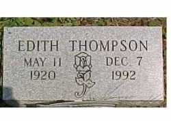 THOMPSON, EDITH - Scioto County, Ohio | EDITH THOMPSON - Ohio Gravestone Photos