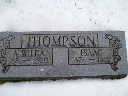 THOMPSON, ISAAC - Scioto County, Ohio | ISAAC THOMPSON - Ohio Gravestone Photos