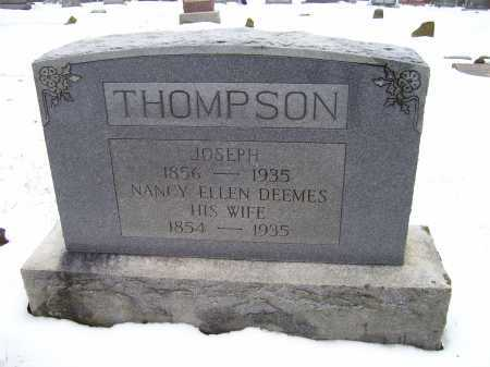 DEEMES THOMPSON, NANCY ELLEN - Scioto County, Ohio | NANCY ELLEN DEEMES THOMPSON - Ohio Gravestone Photos