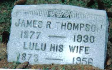 THOMPSON, JAMES R. - Scioto County, Ohio | JAMES R. THOMPSON - Ohio Gravestone Photos