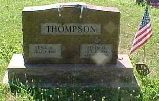 THOMPSON, JOHN O. - Scioto County, Ohio | JOHN O. THOMPSON - Ohio Gravestone Photos