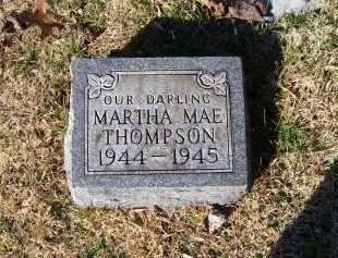 THOMPSON, MARTHA MAE - Scioto County, Ohio | MARTHA MAE THOMPSON - Ohio Gravestone Photos