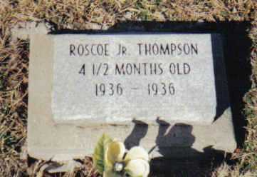 THOMPSON, ROSCOE JR. - Scioto County, Ohio | ROSCOE JR. THOMPSON - Ohio Gravestone Photos