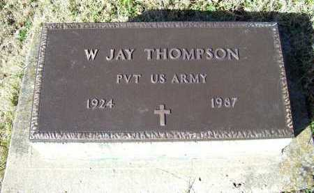 THOMPSON, W. JAY - Scioto County, Ohio | W. JAY THOMPSON - Ohio Gravestone Photos