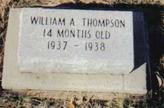 THOMPSON, WILLIAM A. - Scioto County, Ohio | WILLIAM A. THOMPSON - Ohio Gravestone Photos