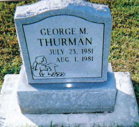 THURMAN, GEORGE M. - Scioto County, Ohio | GEORGE M. THURMAN - Ohio Gravestone Photos