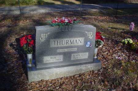THURMAN, ROY - Scioto County, Ohio | ROY THURMAN - Ohio Gravestone Photos