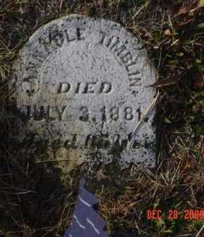 TIMBLIN, ANNABLE - Scioto County, Ohio | ANNABLE TIMBLIN - Ohio Gravestone Photos