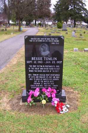 TOMLIN, BESSIE - Scioto County, Ohio | BESSIE TOMLIN - Ohio Gravestone Photos