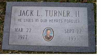 TURNER, JACK L. II - Scioto County, Ohio | JACK L. II TURNER - Ohio Gravestone Photos