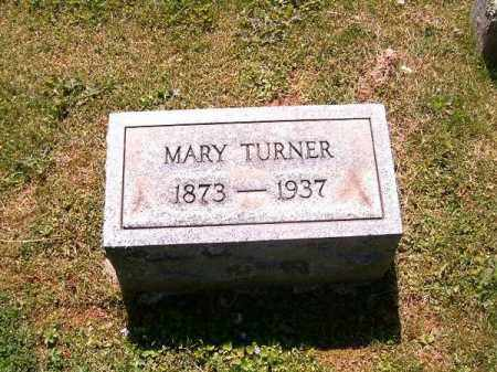 TURNER, MARY - Scioto County, Ohio | MARY TURNER - Ohio Gravestone Photos