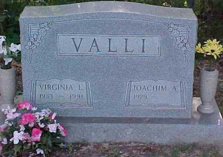 VALLI, JOACHIM A. - Scioto County, Ohio | JOACHIM A. VALLI - Ohio Gravestone Photos