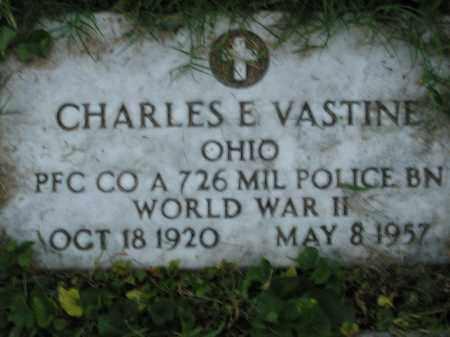 E VASTINE, CHARLES - Scioto County, Ohio | CHARLES E VASTINE - Ohio Gravestone Photos