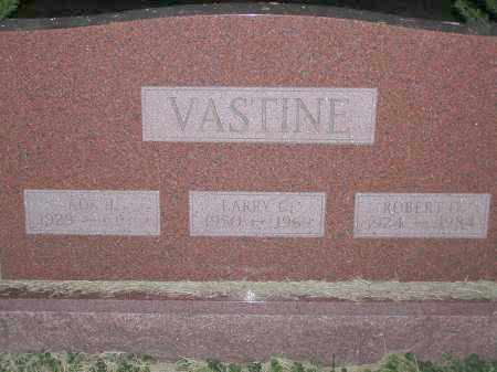 VASTINE, LARRY CHARLES - Scioto County, Ohio | LARRY CHARLES VASTINE - Ohio Gravestone Photos