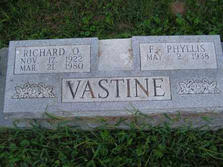 VASTINE, RICHARD O - Scioto County, Ohio | RICHARD O VASTINE - Ohio Gravestone Photos