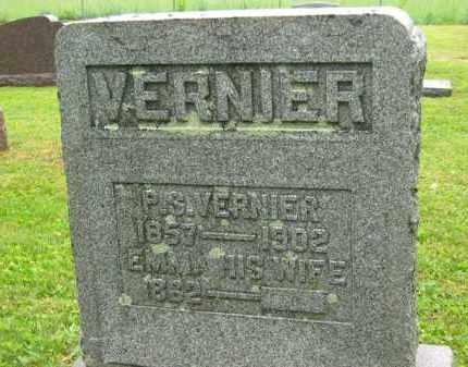 VERNIER, P. S. - Scioto County, Ohio | P. S. VERNIER - Ohio Gravestone Photos