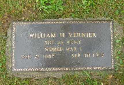 VERNIER, WILLIAM H. - Scioto County, Ohio | WILLIAM H. VERNIER - Ohio Gravestone Photos