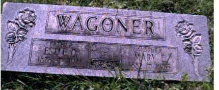 WAGONER, MARY E. - Scioto County, Ohio | MARY E. WAGONER - Ohio Gravestone Photos
