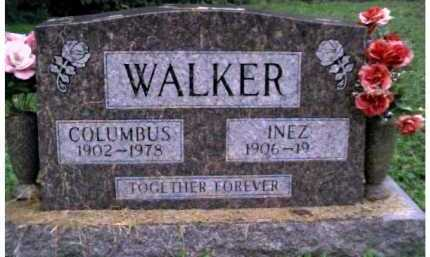 WALKER, COLUMBUS - Scioto County, Ohio | COLUMBUS WALKER - Ohio Gravestone Photos