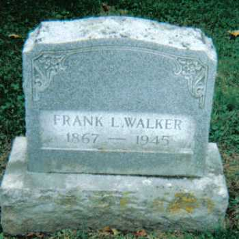 WALKER, FRANK L. - Scioto County, Ohio | FRANK L. WALKER - Ohio Gravestone Photos
