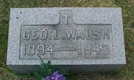WALSH, GEO. L. - Scioto County, Ohio | GEO. L. WALSH - Ohio Gravestone Photos