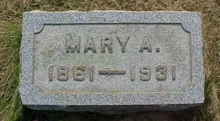 WALSH, MARY A. - Scioto County, Ohio | MARY A. WALSH - Ohio Gravestone Photos