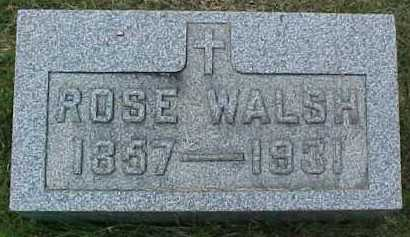 WALSH, ROSE - Scioto County, Ohio | ROSE WALSH - Ohio Gravestone Photos