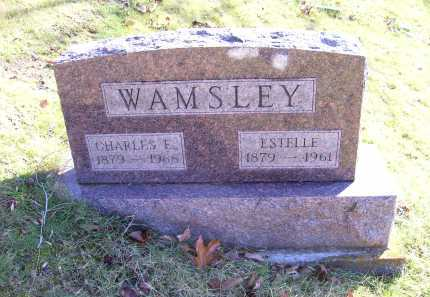 WAMSLEY, CHARLES E. - Scioto County, Ohio | CHARLES E. WAMSLEY - Ohio Gravestone Photos