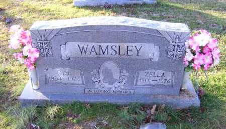 WAMSLEY, ZELLA - Scioto County, Ohio | ZELLA WAMSLEY - Ohio Gravestone Photos