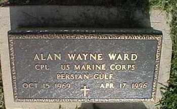 WARD, ALAN WAYNE - Scioto County, Ohio | ALAN WAYNE WARD - Ohio Gravestone Photos