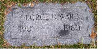 WARD, GEORGE D. - Scioto County, Ohio | GEORGE D. WARD - Ohio Gravestone Photos