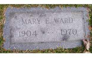 WARD, MARY E. - Scioto County, Ohio | MARY E. WARD - Ohio Gravestone Photos