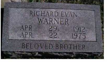 WARNER, RICHARD EVAN - Scioto County, Ohio | RICHARD EVAN WARNER - Ohio Gravestone Photos