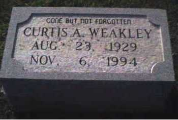 WEAKLEY, CURTIS A. - Scioto County, Ohio | CURTIS A. WEAKLEY - Ohio Gravestone Photos