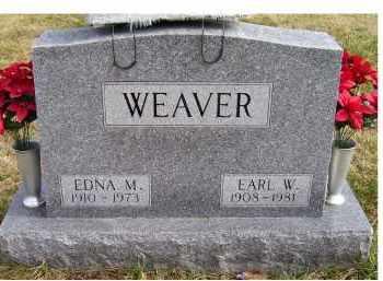 WEAVER, EDNA M. - Scioto County, Ohio | EDNA M. WEAVER - Ohio Gravestone Photos