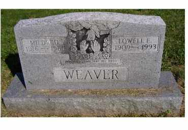 WEAVER, LOWELL E. - Scioto County, Ohio | LOWELL E. WEAVER - Ohio Gravestone Photos