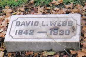 WEBB, DAVID L. - Scioto County, Ohio | DAVID L. WEBB - Ohio Gravestone Photos