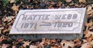 WEBB, HATTIE - Scioto County, Ohio | HATTIE WEBB - Ohio Gravestone Photos