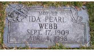 WEBB, IDA PEARL - Scioto County, Ohio | IDA PEARL WEBB - Ohio Gravestone Photos