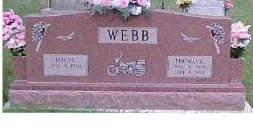 WEBB, THOMAS E. - Scioto County, Ohio | THOMAS E. WEBB - Ohio Gravestone Photos