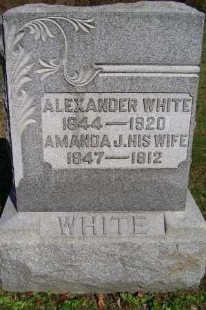 WHITE, ALEXANDER - Scioto County, Ohio | ALEXANDER WHITE - Ohio Gravestone Photos