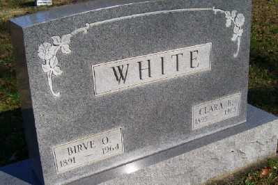 WHITE, BIRVE O. - Scioto County, Ohio | BIRVE O. WHITE - Ohio Gravestone Photos