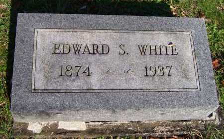 WHITE, EDWARD S. - Scioto County, Ohio | EDWARD S. WHITE - Ohio Gravestone Photos