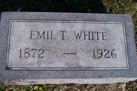 WHITE, EMIL T. - Scioto County, Ohio | EMIL T. WHITE - Ohio Gravestone Photos