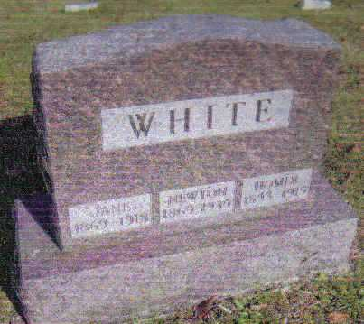 WHITE, NEWTON - Scioto County, Ohio | NEWTON WHITE - Ohio Gravestone Photos